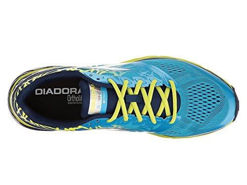 Diadora Mythos Blaushield C6052 Laufschuhe Laufschuhe C6052 für Herren, Farbe  Classic Navy Blau Fluo 6fe074