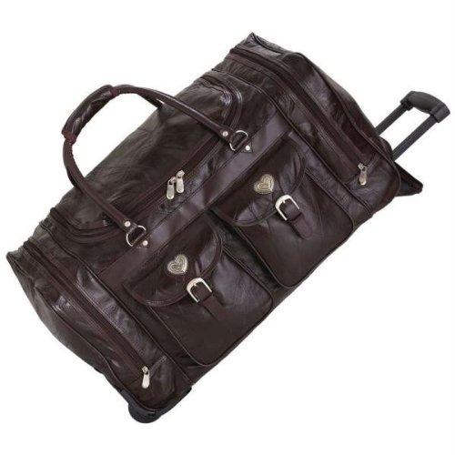Bag Brown Embassy (Embassy Genuine Leather Trolley Bag)