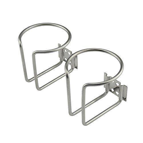 - Plum Garden 2pcs Stainless Steel Boat Ring Cup Drink Holder for Marine Yacht Truck RV