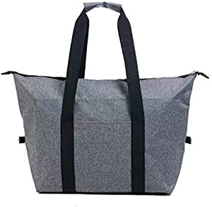 Insulated Reusable Grocery Bag, Trackman Waterproof Storage for Cold and Hot Foods, Foldable Washable New Grocery Tote Bags