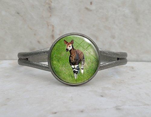 Okapi Animal Cuff Bracelet