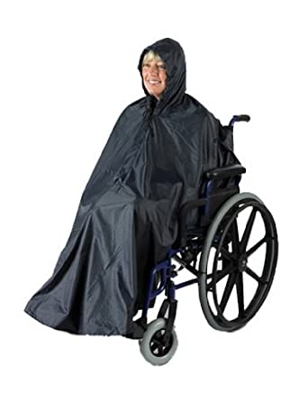 Ability Superstore Mac - Impermeable sin mangas para silla de ruedas
