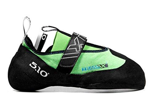 Five Ten Men's Team VXI Climbing Shoe,Neon/Charcoal,10 M US