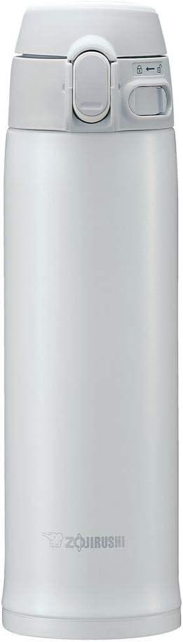 Zojirushi SM-TA48WA Stainless Steel Vacuum Insulated Mug, 16-Ounce, White
