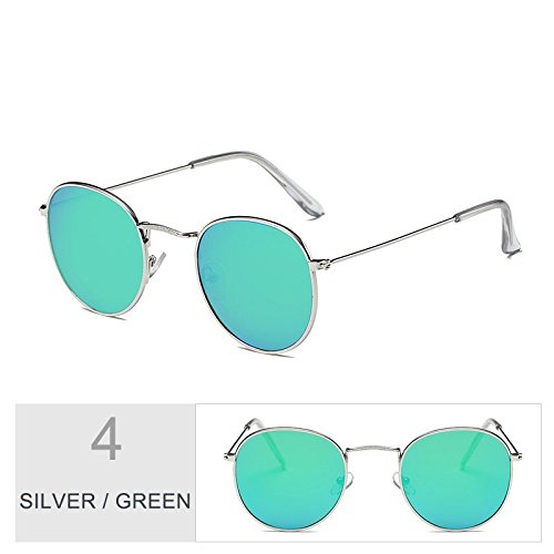Mujeres Del Metal Silver Steampunk Enormes Uv400 Bastidor Oval TIANLIANG04 Morado Plata Para En Sol Gafas Unas Gafas Green De De Hombres Sol ax4SqA