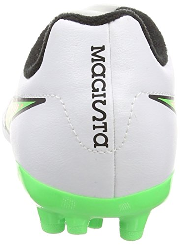 Nike Magista Onda Ag, Jungen Fußballschuhe Weiß (white/poison Green/black/total Orange)