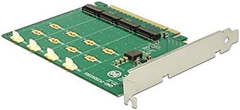 Delock Pcie X16 Ioi 4 X M 2 Key M Nvme Bifurcation Computer Zubehör