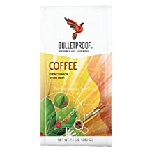 Bulletproof French Kick Whole Bean Coffee, 340 Grams
