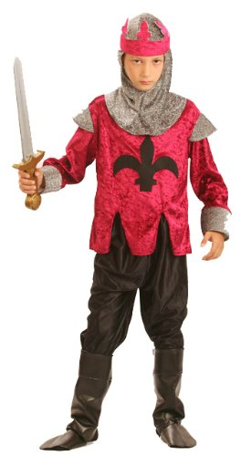 Disfraz de rey caballero medieval para niño: Amazon.es ...