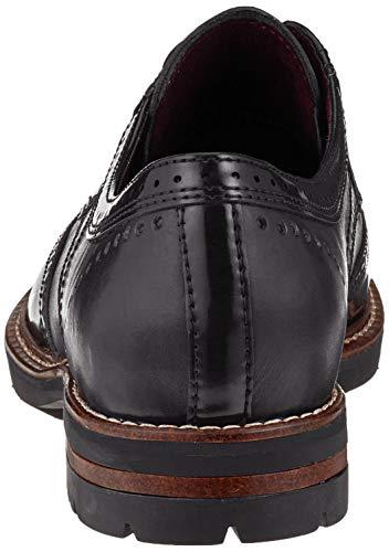 Zapatos 1 Mujer Brogue Black Cordones 23736 para Tamaris de 31 Negro O0vpx7