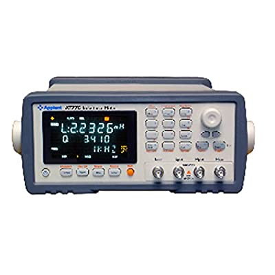 AT610D Capacitance Meter Accuracy 0.1% Frequency 100Hz 120Hz 1kHz 10kHz 0.3Vrms 1Vrms Max 15VA 9-bin Sorting