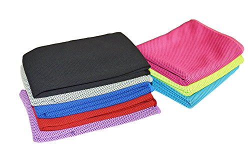Sports Outdoors And Indoors Exercise Workout Running, Hiking, Yoga Cooling Towel For Instant Relief - 40