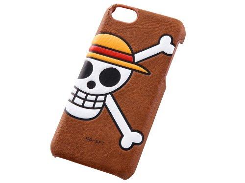 One Piece caractères Pop-UP en cuir pour iPhone 5C Motif drapeau (Luffy