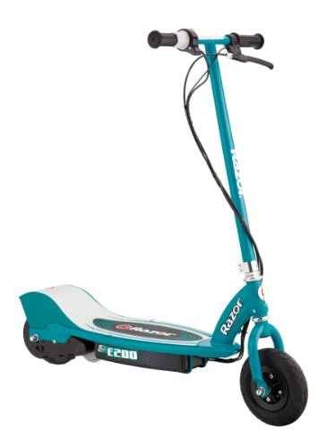 Scooter Electric Power (Razor E200 Electric Scooter - Teal)