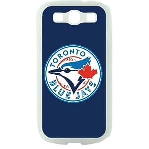 MLB Major League Baseball Toronto Blue Jays Samsung Galaxy S3 SIII I9300 TPU Soft Black or White case (White)