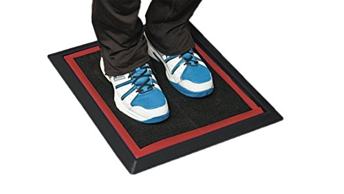 Sanistride Sports Mat Shoe Sanitizer Mat System, 1/2″ deep – Rubber Base Mat with Proprietary Sanitizer Insert 1/2″ Thick (3)