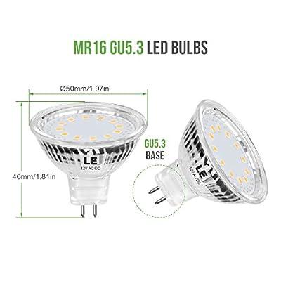 LE MR16 GU5.3 LED Light Bulbs Non Dimmable 12 V AC/DC