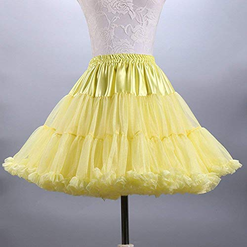 Jupon Jaune Costume Ballet Couches Jupe Multi Tutu Luxueuse Tulle Ab Douce Mall Femmes qIw4a47z