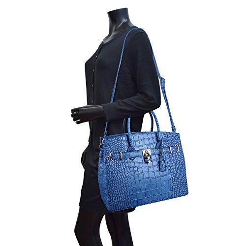 Dasein-Womens-Top-Handle-Satchel-Handbags-Designer-Tote-Purse-Shoulder-Bag-Faux-Leather-Padlock-Briefcase-Laptop-Bag