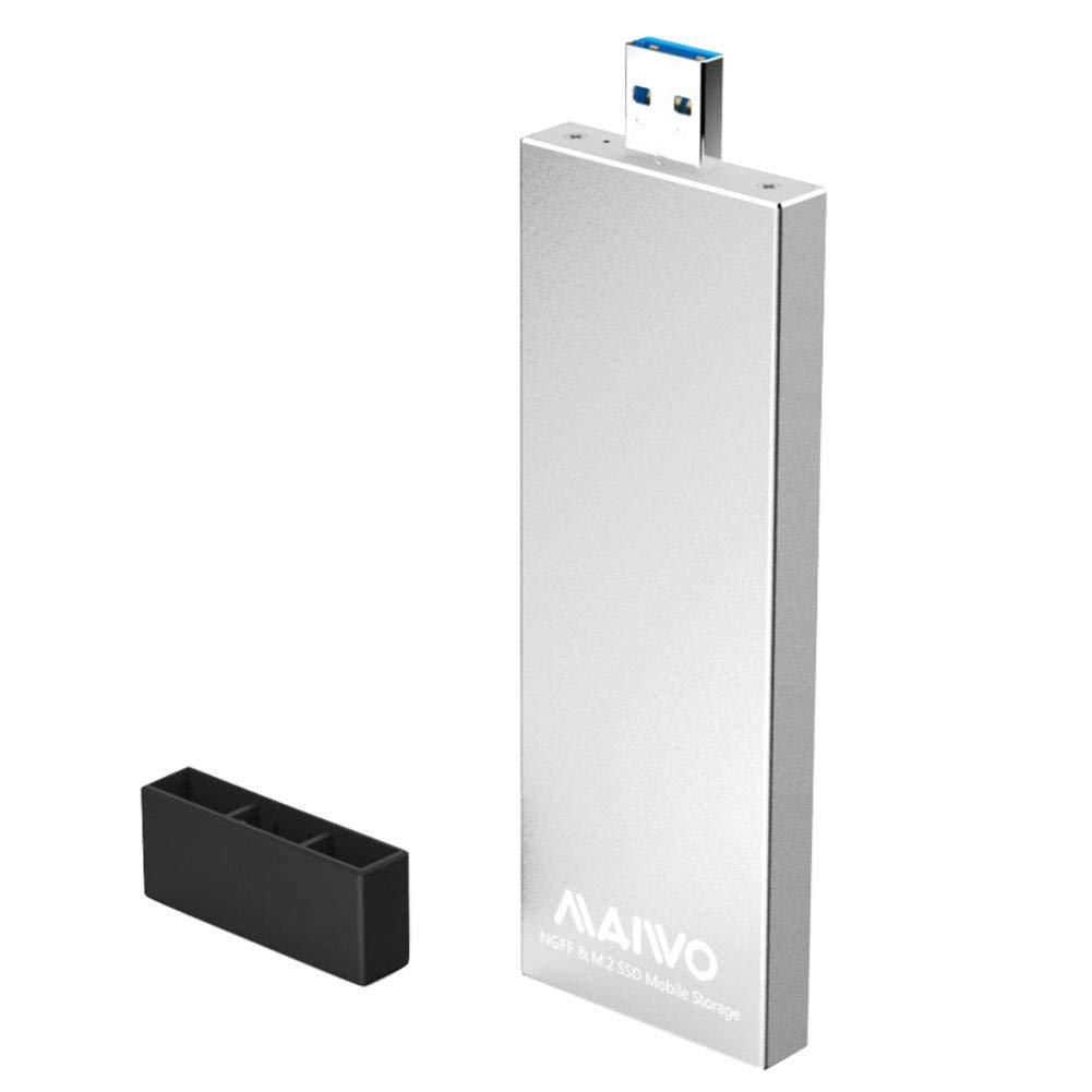 MAIWO K17N - Carcasa para Disco Duro Externo (USB 3.0 a SATA M.2 ...