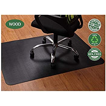 Amazon Com Office Chair Mat For Hardwood And Tile Floor