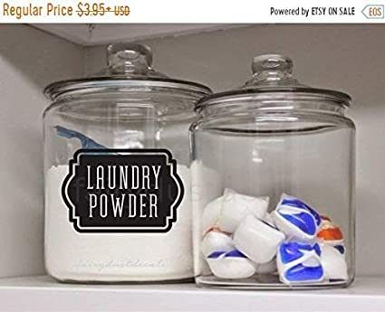 Amazon Com Pene Labor Day Sale Laundry Powder Canister Label