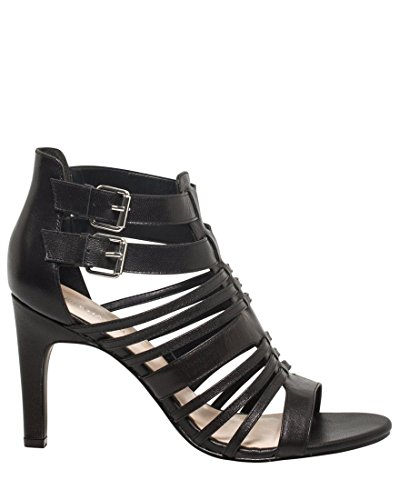 Black Women's CHÂTEAU Gladiator Sandal LE Leather wnpRq87X