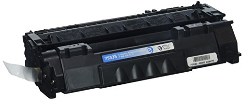 Elite Image Compatible Toner Cartridge Replacement for HP Q7553A ( Black , 1-Pack ) from Elite