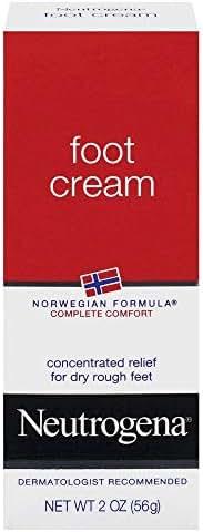Neutrogena Norwegian Formula Moisturizing Foot Cream, 2 Oz. (Pack of 2)