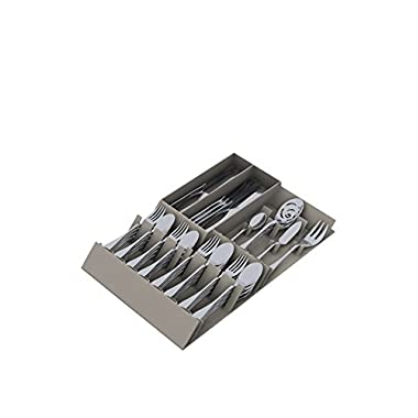 Knork Flatware Storage Tray, Silver