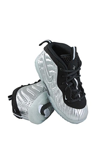 600470d5dc5 Galleon - 843769-007 INFANTS AND TODDLER LITTLE POSITE PRO (TD) NIKE  METALLIC SILVER