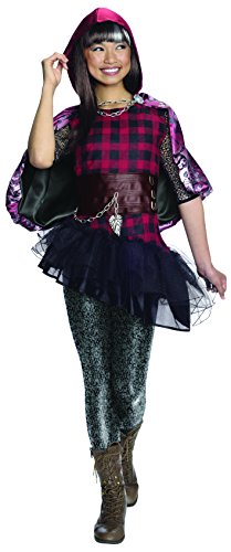 Rubie's Ever After High Cerise Hood Deluxe Costume, Child's Extra (Girls Deluxe Cerise Hood Costumes)