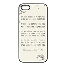 Customize Generic Rubber Material Phone Cover Winnie the Pooh Quotes Back Case Suitable For iPhone 5 iPhone 5s
