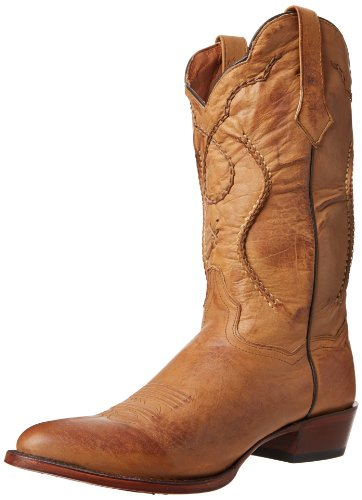 Dan Post Men's Albany Western Boot,Palomino,13 D US Mens Albany Shoe