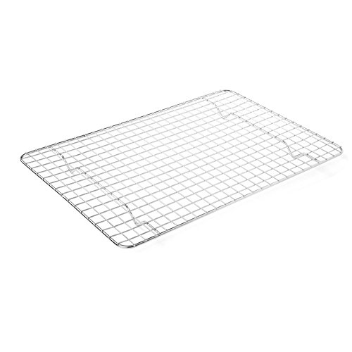 LHFLIVE Stainless Steel Cooling Rack For Baking Oven and Dishwasher Safe,12 x 17 inches Fits Half Sheet Pan by LHFLIVE