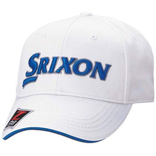 ダンロップ SRIXON 帽子 キャップ SMH7130X ホワイト/ネイビー フリー