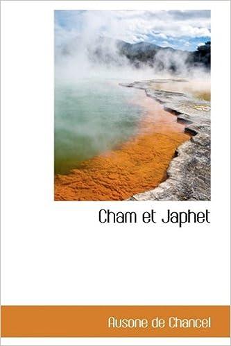 Book Cham et Japhet (French Edition)