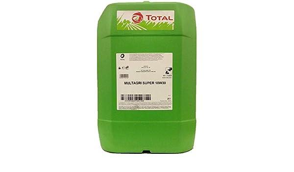 Total Multi Super 10W-30 - Aceite multiusos universal para tractores y máquinas de cosecha (20 L): Amazon.es: Industria, empresas y ciencia