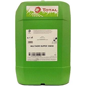 Total Multi Super 10W-30 - Aceite multiusos universal para tractores y máquinas de cosecha
