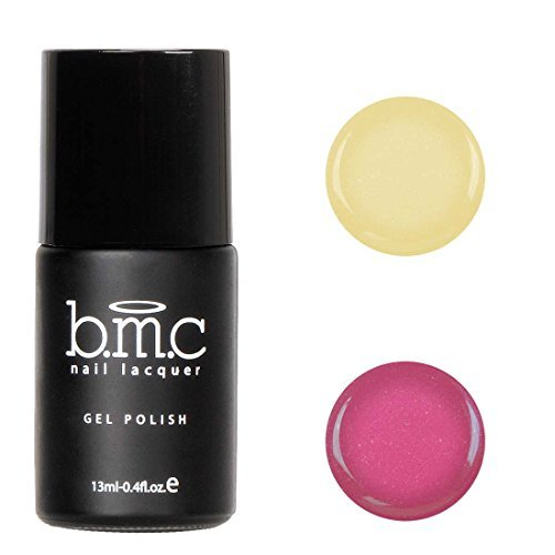 BMC Thermal Color Changing Iridescent Micro Glitter Nail Lacquer Gel Polish - Cancun Collection, Tequila Sunrise by - Mall Sunrise Shopping