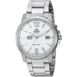 Orient Men's 'Starfish' Japanese Automatic Stainless Steel Casual Watch, Color:Silver-Toned (Model: FEM7J008W0)