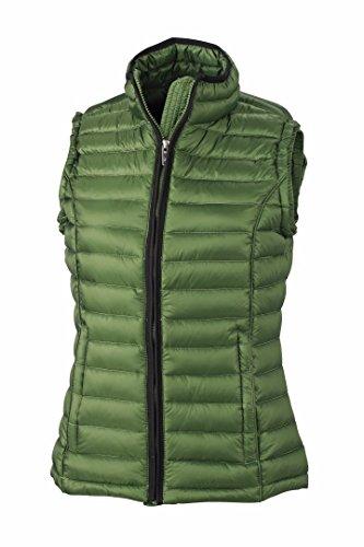 James Green Women's L Nicholson Gilet Vest Black JN1079 Quilted Down amp; Jungle FUqFrnA6