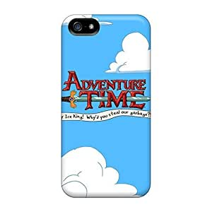 FsC11140Vsrf Snap On Cases Covers Skin Case For Iphone 5/5S Cover(adventure Time Logo)
