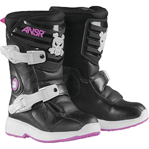 Answer 2018 Pee-Wee Boots (13) (Black/Pink) ()