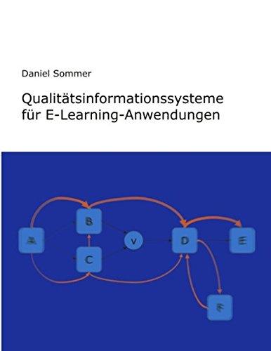 Read Online Qualit Tsinformationssysteme Fur E-Learning-Anwendungen (German Edition) pdf epub