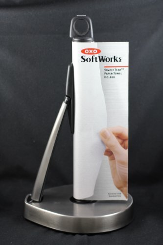Oxo Paper Towel Holder (OXO Softworks Stainless Steel Simply Tear Paper Towel Holder)