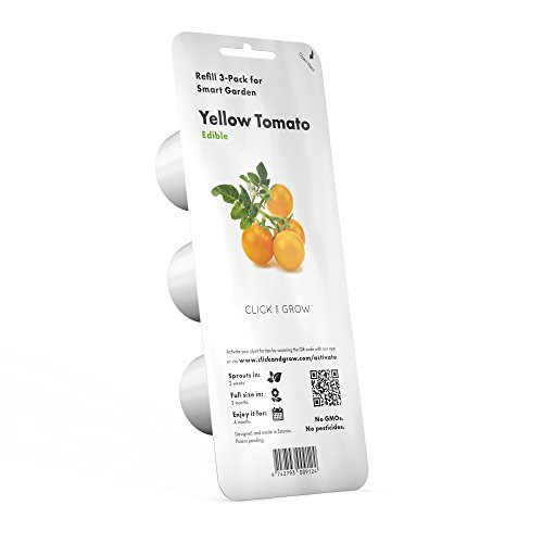 Click and Grow Smart Garden Yellow Tomato Plant Pods, - Smart Pod