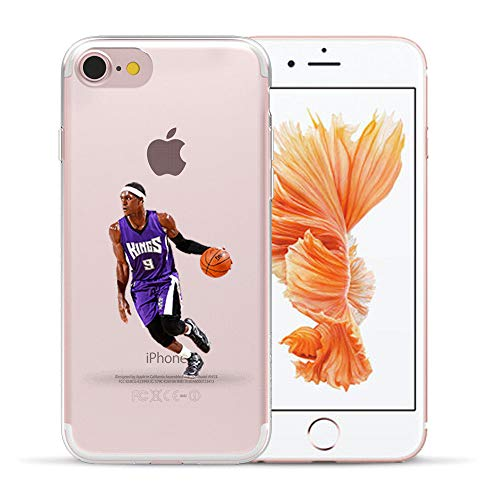 1 piece HryCase NBA Star Basketball Kobe Jordan 23 James Print Matte Hard Plastic Case Cover For Apple iPhone 8 6 6S 7 Plus 5 5S X (Hybrid Expansion Card)