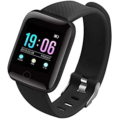 HFXLH Smart Wristband Heart Rate 1 3 Inch Touch Screen Blood Pressure Sleep IP67 Waterproof Smart Wristband Heart Rate Tracker Estimated Price £22.52 -