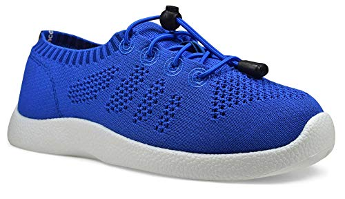 SoftScience The Tradewind Women's Lace-Up Athleisure Shoes - Royal Blue, Size 9